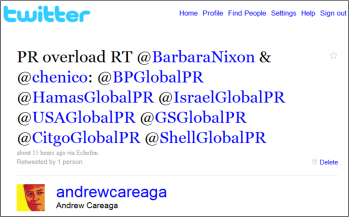 Just a few of the @__________GlobalPR accounts now floating around Twitter.