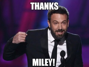 At least it's not about Batman anymore. Via http://mashable.com/2013/08/26/miley-cyrus-memes/