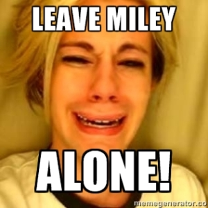 Leave Miley Alone